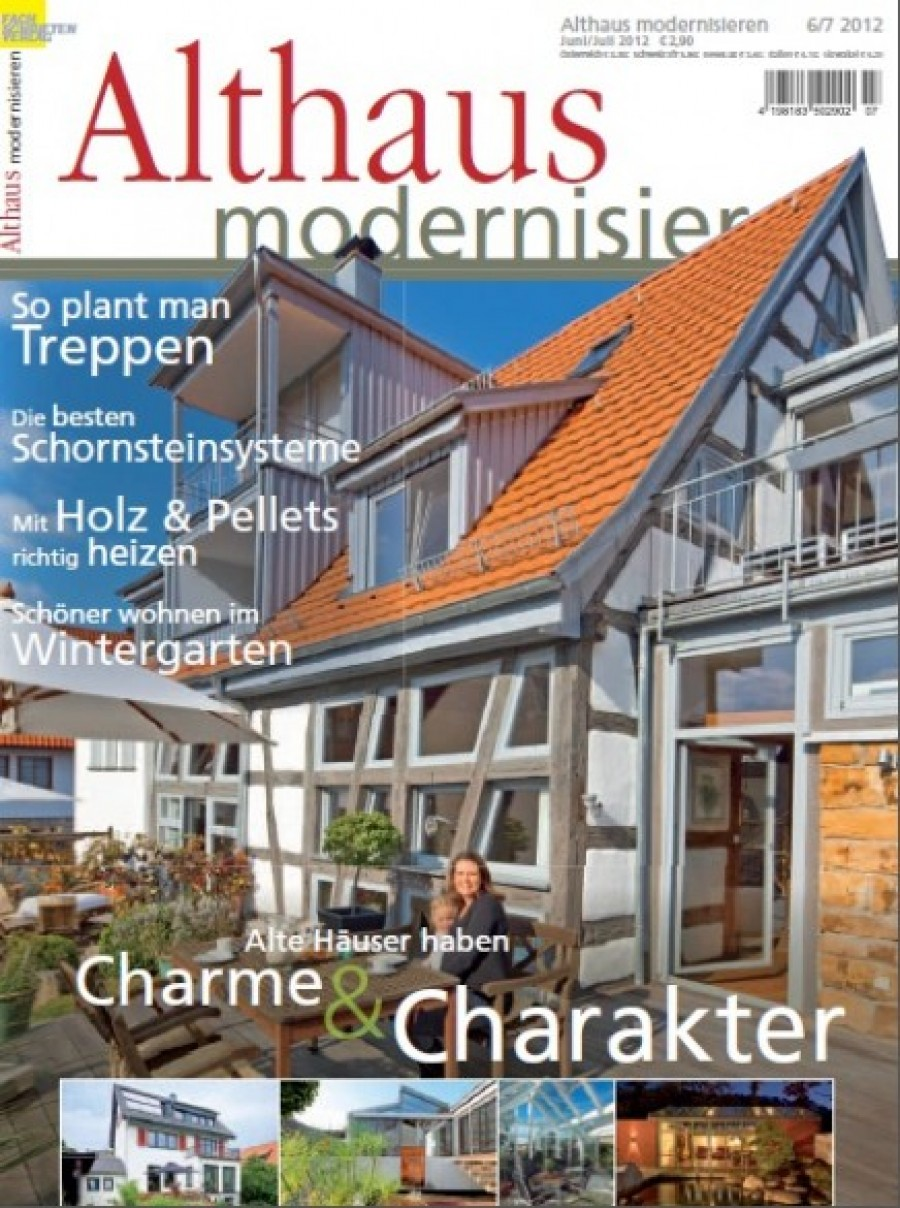 cabrio veranda im special interest magazin althaus modernisieren juni juli 2012 baumann. Black Bedroom Furniture Sets. Home Design Ideas